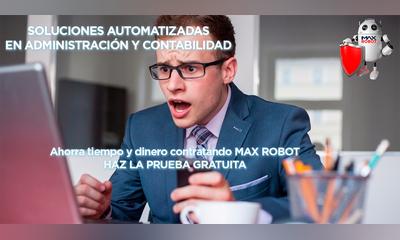 ¿Problemas con tu cobranza? Tranquilízate, Max Robot tiene el sistema de vencimientos que necesitas.