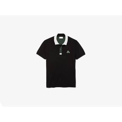 Camisa dubalu tipo polo color negro