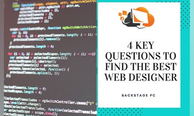 4 Questions you Need to Ask to Find the Best Web Designer