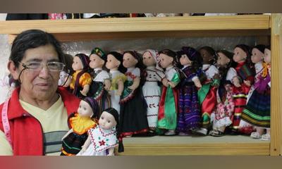 El encanto de las muñecas artesanales de Mineral de Pozos