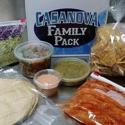Fish Tacos ~ Casanova Family Pack