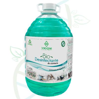 BIO DESINFECTANTE PLUS (de contacto) Ambiental y de Superficies (5 litros)