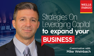Interview with Mike Weinbach | Senior Executive Vice President, CEO of Consumer LendingWells Fargo & Company