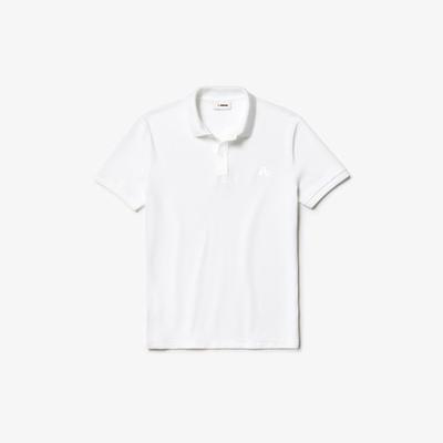 Camisa dubalu tipo polo color blanco