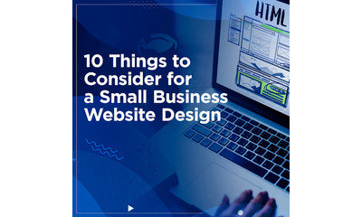 10 Things to Consider for a Small Business Website