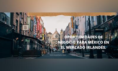 OPORTUNIDADES DE NEGOCIO PARA MÉXICO EN EL MERCADO IRLANDÉS