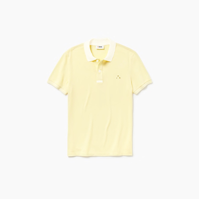 Camisa dubalu tipo polo color amarillo