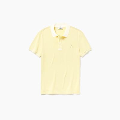 Camisa dubalu tipo polo color amarillo