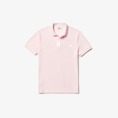 Camisa dubalu tipo polo color rosa