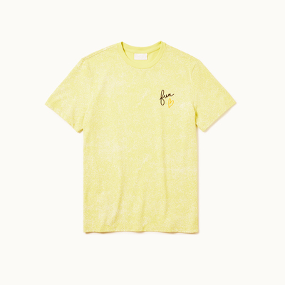 Playera dubalu color amarillo
