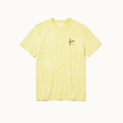 Playera dubalu color amarillo