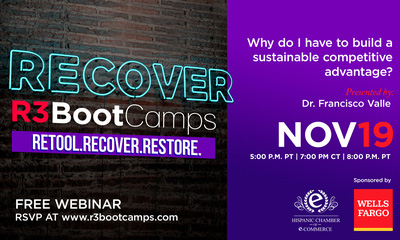 R3 Boot Camps - RECOVER: Why do I have to build a sustainable competitive advantage?