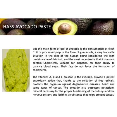 Avocado Paste | Wholesale Organic Guacamole