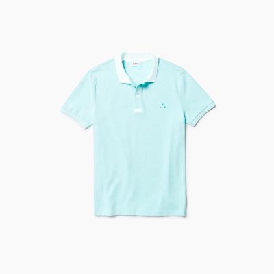 Camisa dubalu tipo polo color azul
