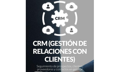 Lleva el control de tus clientes y gestiona la información con nuestro CRM
