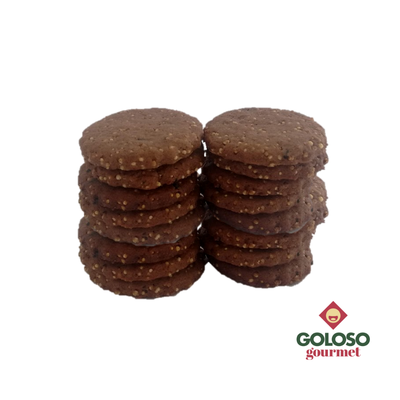Galleta de amaranto y chocolate 500 grs